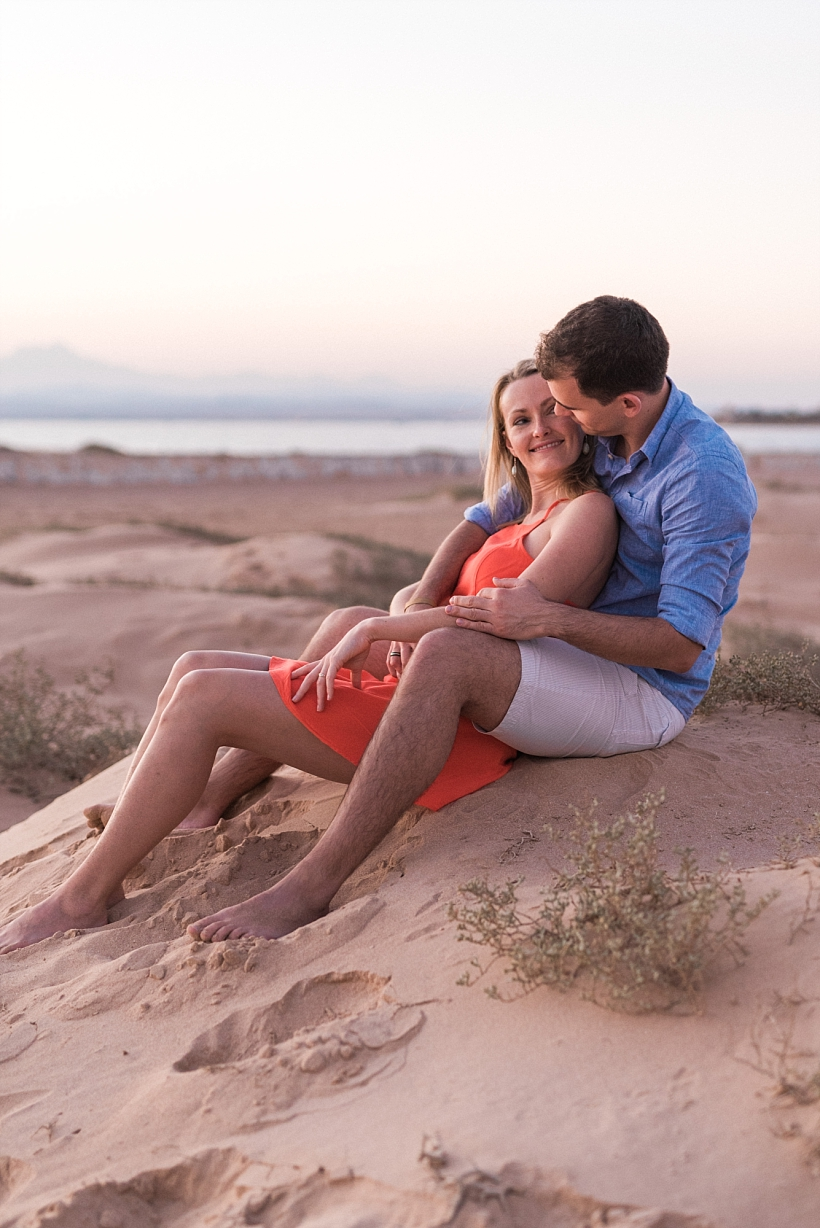 Engagement Session am Strand in Soma Bay Ägypten