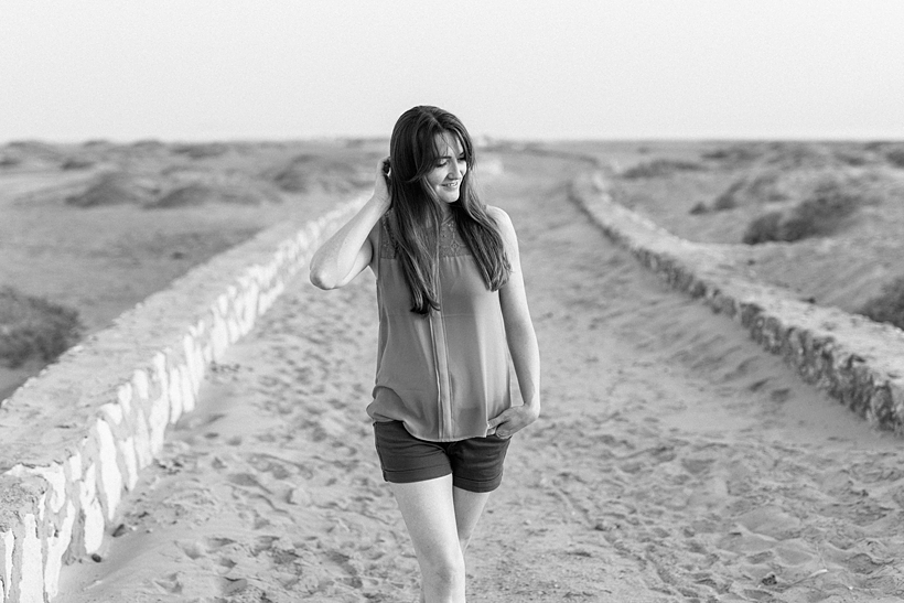Portraitfoto am Strand von Soma Bay Ägypten