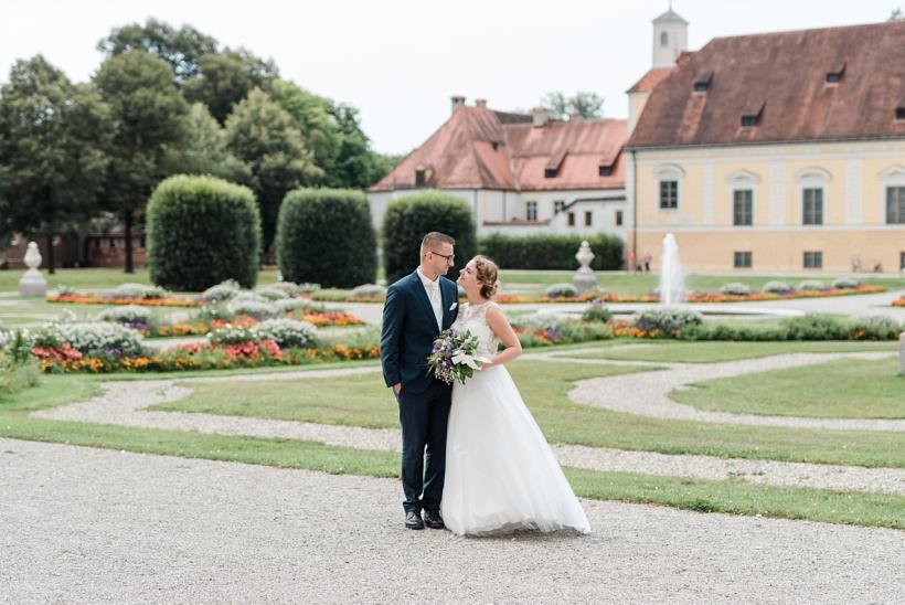 Hochzeitsfotos Schloss Schleißheim St. Ulrich Kirche Oberschleißheim