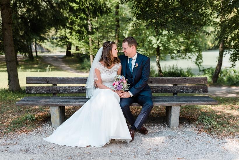 Hochzeitsfotos Menterschwaige München und St. Anna Kirche Thalkirchen
