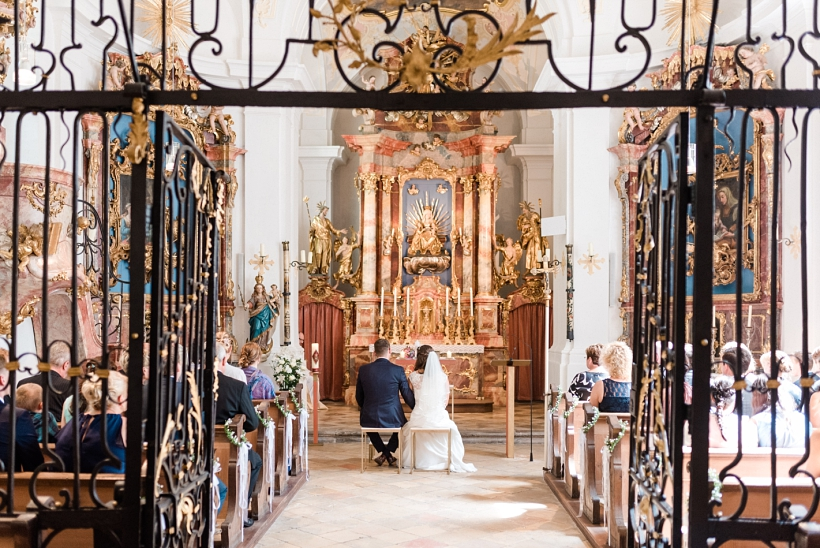 Hochzeit in der St. Anna Kirche in Thalkirchen München