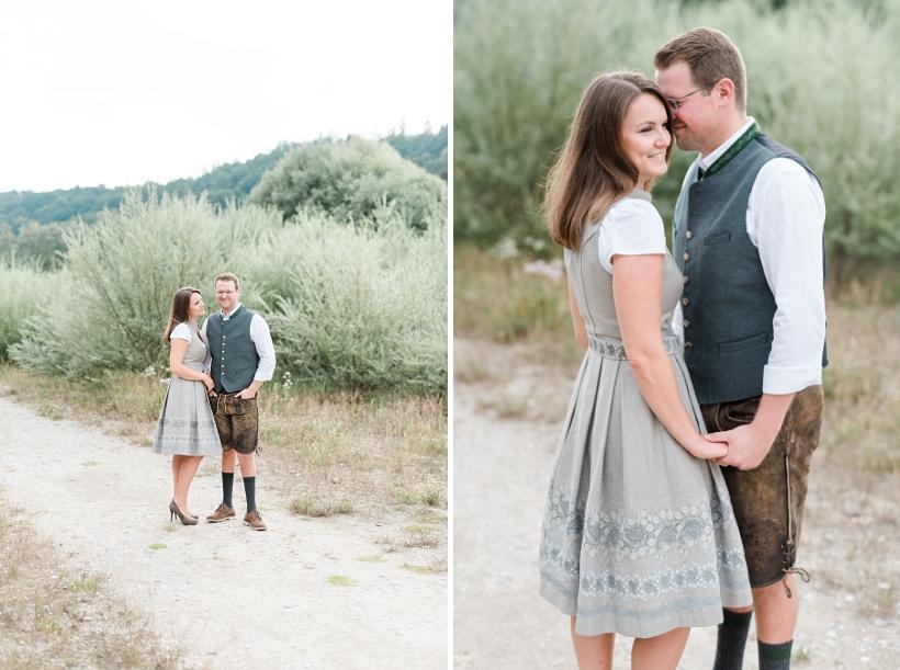 Fotoshooting zur Verlobung in München