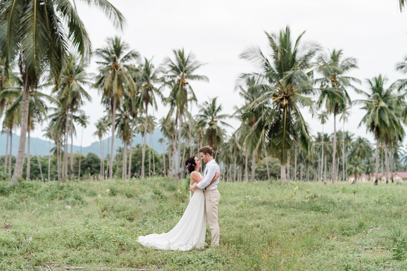 Thailand Wedding Photographer After Wedding Photoshooting Koh Samui Chai Talay