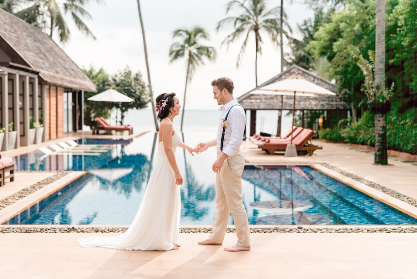 Wedding Photos Koh Samui Thailand Chai Talay