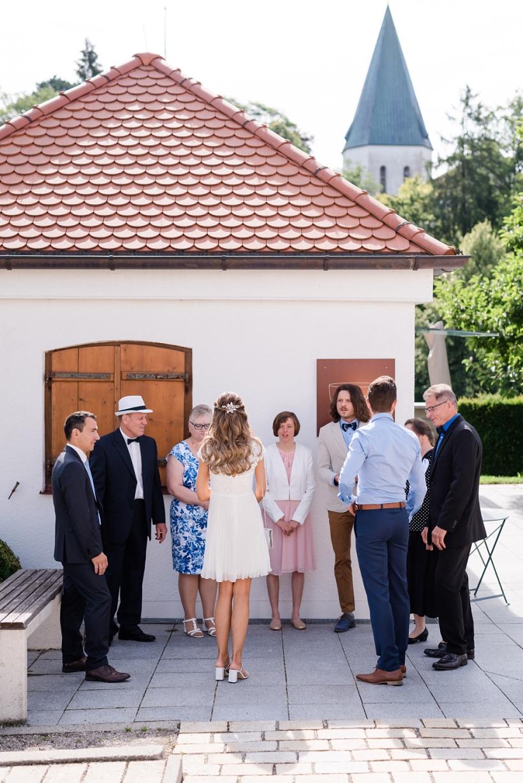 Hochzeitsfotos im Standesamt Pöcking