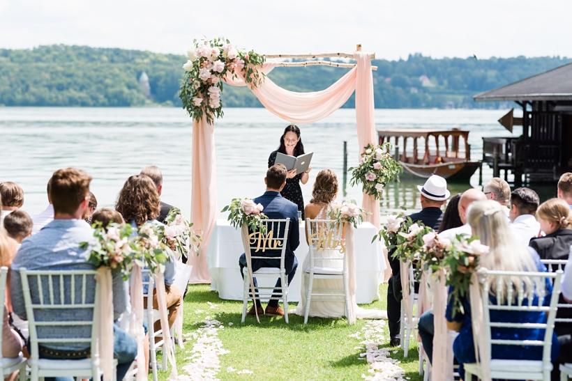 Hochzeit im La Villa am Starnberger See
