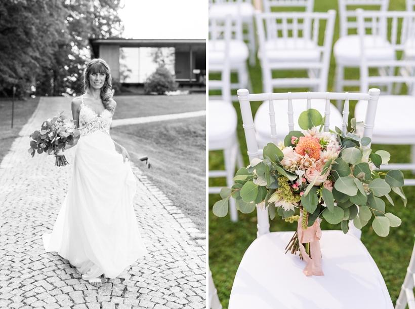 Hochzeitsfotos im LA VILLA Starnberger See von Hochzeitsfotografin Katrin Kind aus München