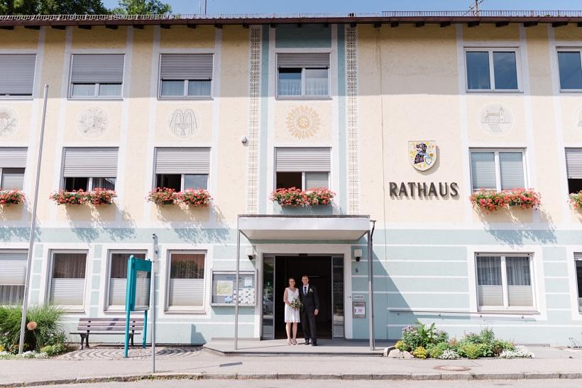 Standesamtliche Minihochzeit in Bad Endorf am Chiemsee