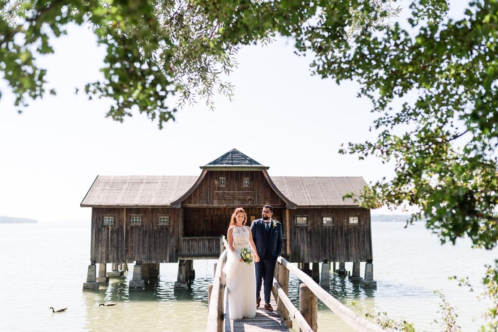Hochzeit am Ammersee auf der MS Diessen