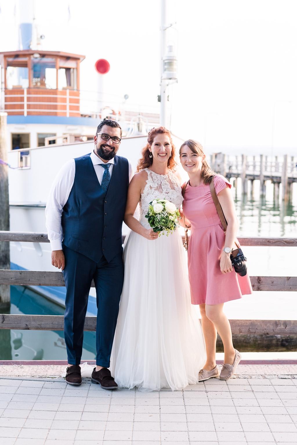 Hochzeitsfotografin Ammersee Hochzeit MS Dießen Restaurant Fischer