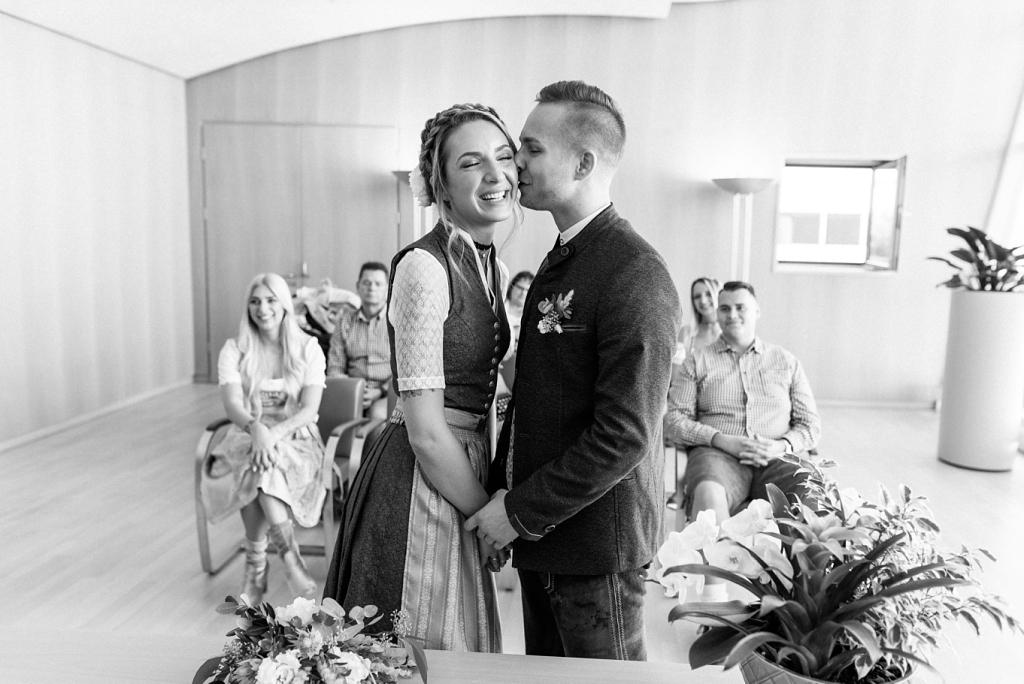 Hochzeitsfotos Standesamt KVR München Rupertstraße