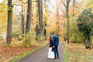 Herbsthochzeit in der Pfarrvilla Unterföhring bei München