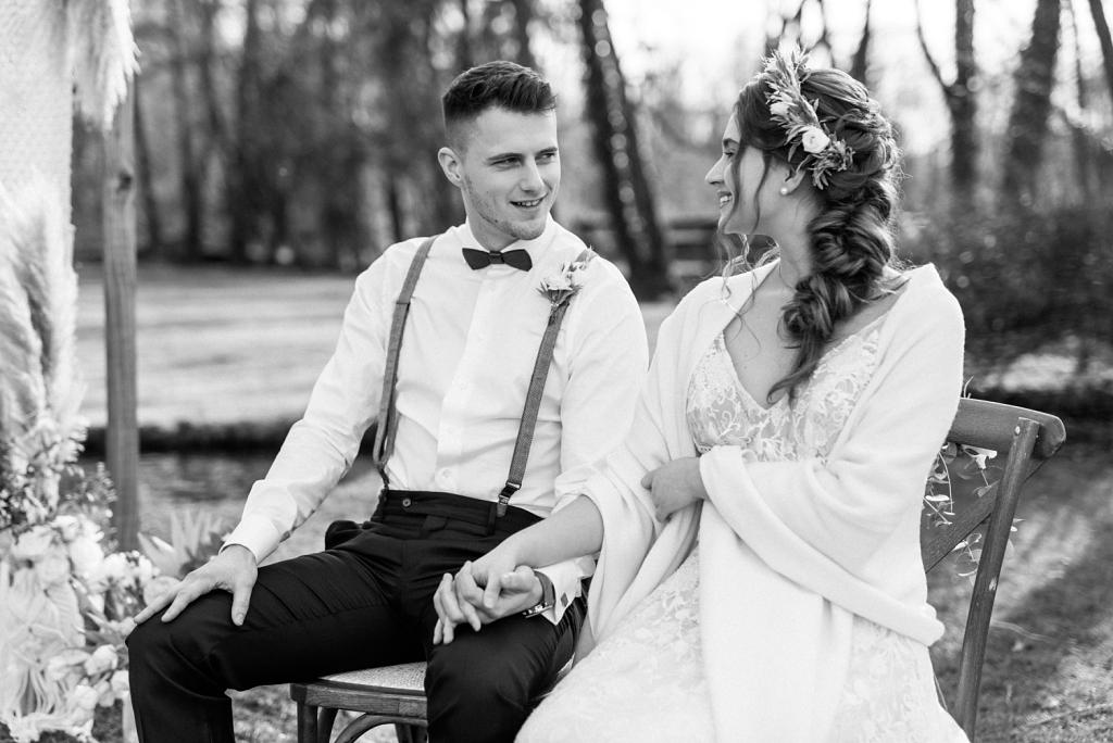 Hochzeitsfotos Freie Trauung Boho Stil München