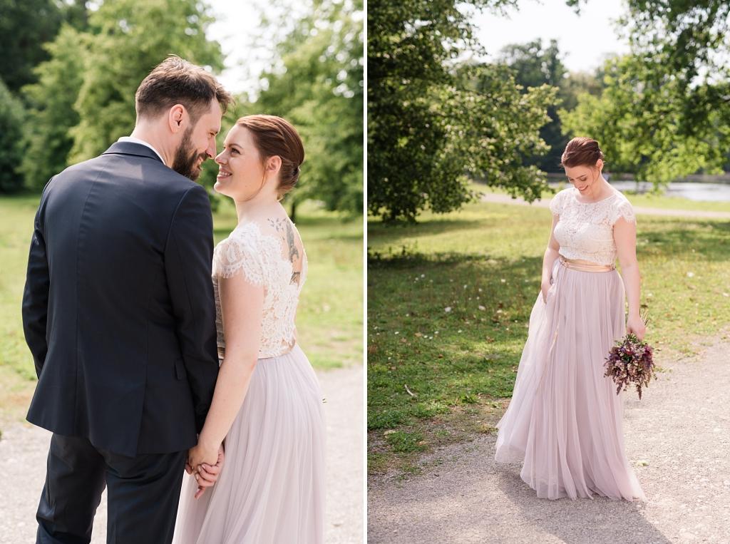 Hochzeit Fotoshooting Schloss Nymphenburg