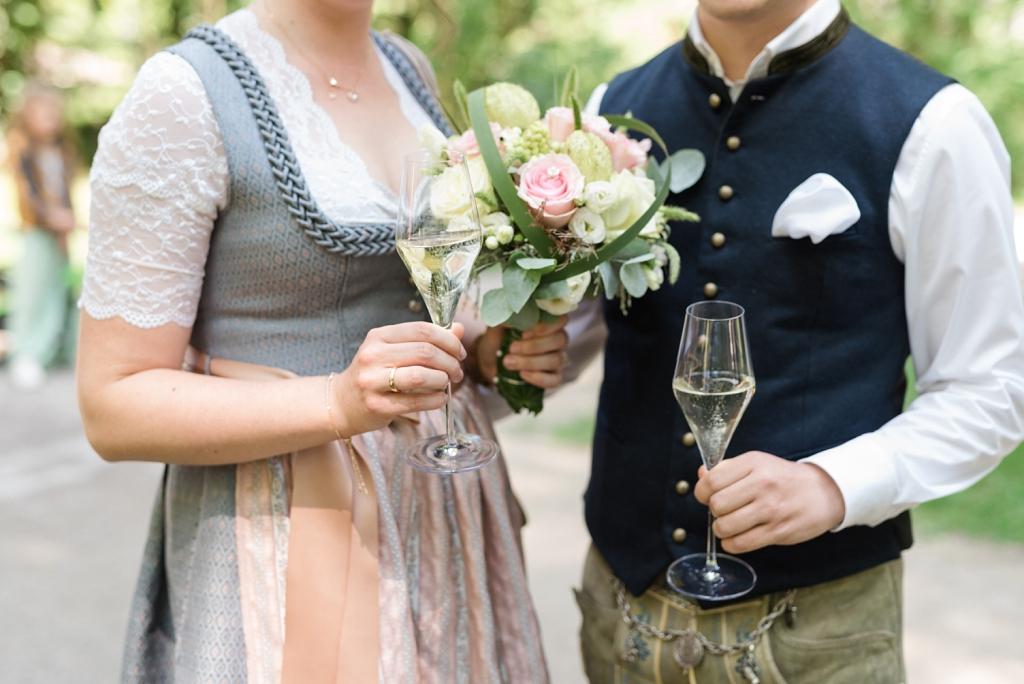 Hochzeit Mandlstraße Englischer Garten München
