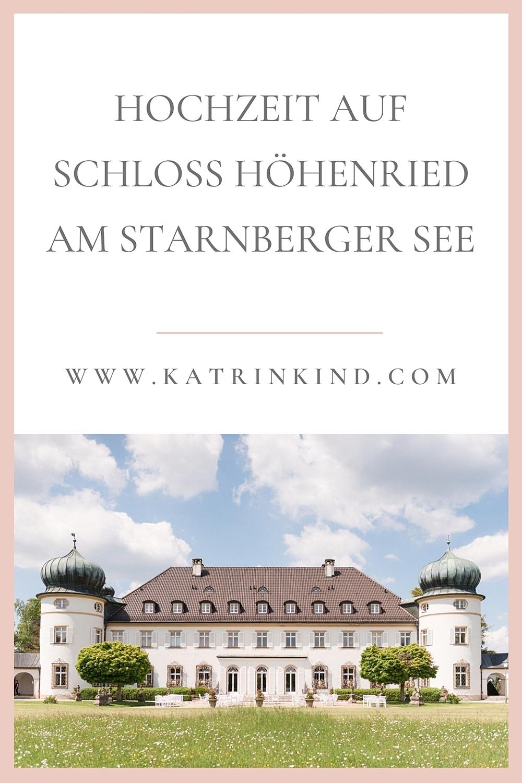 Schloss Höhenried Hochzeit