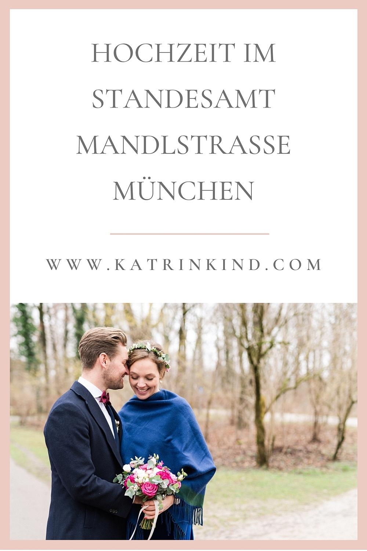 Standesamt Mandlstraße Hochzeit