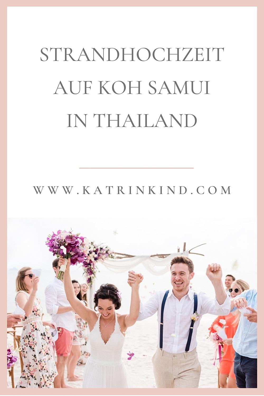 Strandhochzeit Thailand Koh Samui
