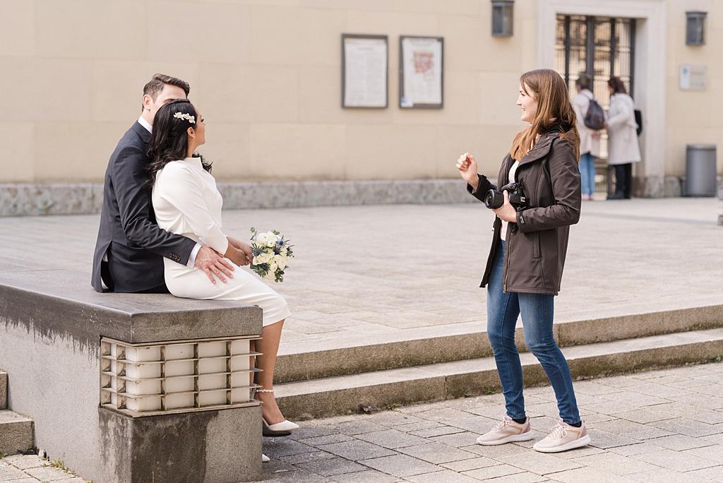 Fotoshooting Hochzeit München